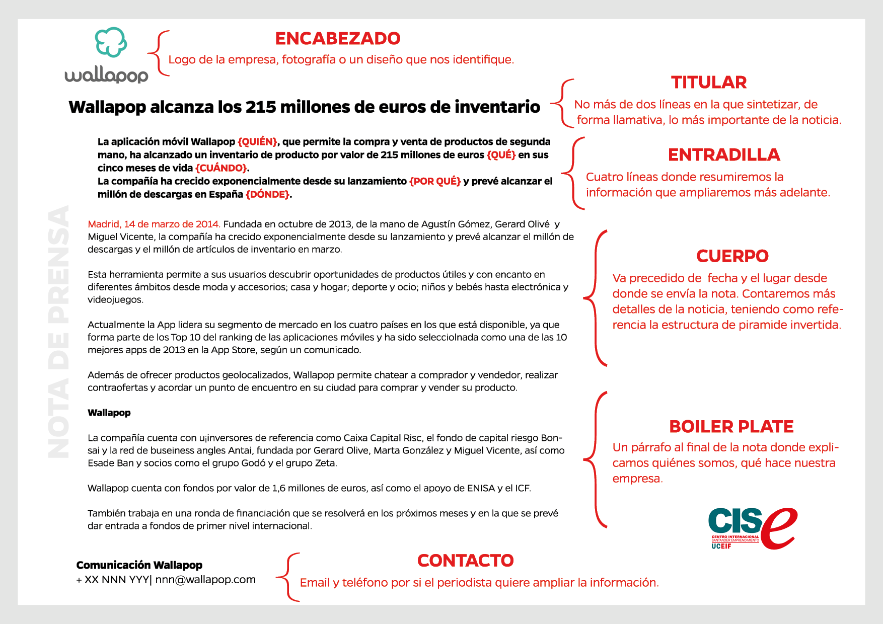 Aprende A Escribir Una Nota De Prensa Marketing Comunicación
