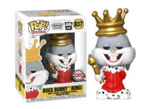Funko Pop! Buggs Bunny King - Vía Frikily