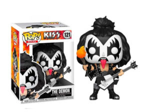 "Funko Pop! ""The demon"" de Kiss - vía Frikily"